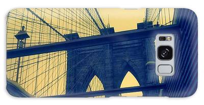 New York City's Famous Brooklyn Bridge Galaxy Case