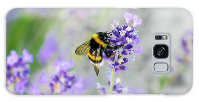 Galaxy Case featuring the photograph Bumblebee by Bee-Bee Deigner