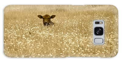 Buttercup In Sepia Galaxy Case