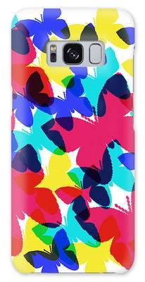 Butterflies Galaxy Case by Bee-Bee Deigner