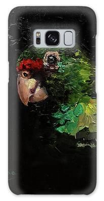 Captain The Parrot Galaxy Case