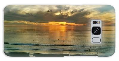 Carlsbad Beach  Galaxy Case