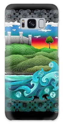 Celtic Castle Tor Galaxy Case