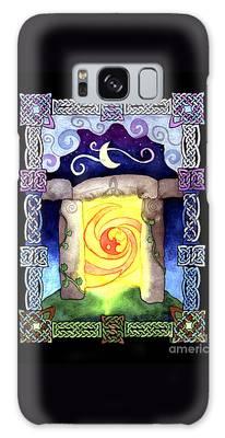 Celtic Doorway Galaxy Case