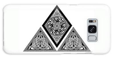 Celtic Pyramid Galaxy Case