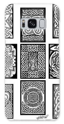 Celtic Tarot Spread Galaxy Case