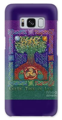 Celtic Tree Of Life Galaxy Case