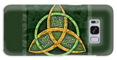 Celtic Trinity Knot Galaxy Case