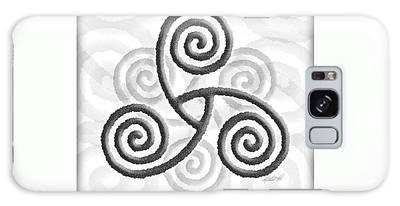 Celtic Triple Spiral Galaxy Case