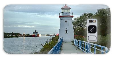 Cheboygan Crib Lighthouse Lake Huron, Lower Peninsula Mi Galaxy Case