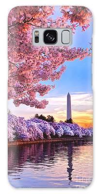 Cherry Blossom Festival  Galaxy Case