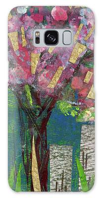 Cherry Blossom Too Galaxy Case