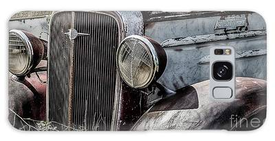 Galaxy Case featuring the photograph Chevy Grill IIi by Brad Allen Fine Art