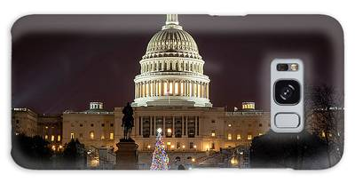 Christmas At The Capital Galaxy Case