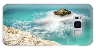 Cliff Views In Negril Galaxy Case