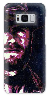 Clint Eastwood Portrait Poster Retro Print Wall Decor Galaxy Case