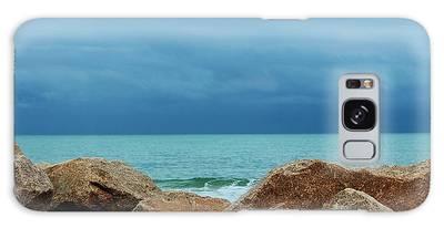 Galaxy Case featuring the photograph Coastal Blues by Cynthia Guinn