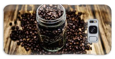 Galaxy Case featuring the photograph Coffee Beans by Ryan Wyckoff