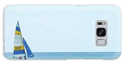 Colorful Catamaran 3 Delray Beach Florida Galaxy Case