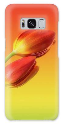 Flower Photographs Galaxy Cases