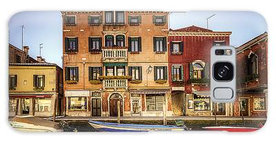 Galaxy Case featuring the photograph Colors Of Murano by Ryan Wyckoff