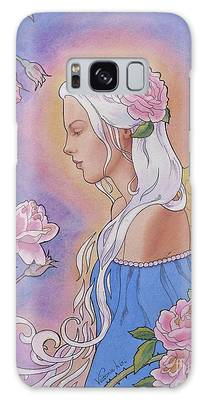 Contemplation Of Beauty Galaxy Case