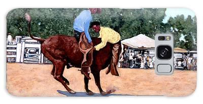 Cowboy Conundrum Galaxy Case