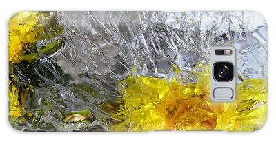 Crystal Flowers Galaxy Case