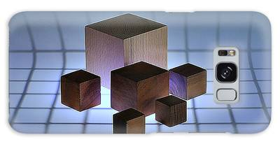 Cubes Galaxy Case