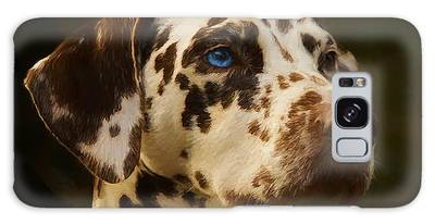 Galaxy Case featuring the painting Dalmatian - Painting by Ericamaxine Price