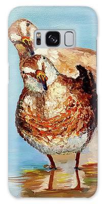 Dowitcher Birds Galaxy Case