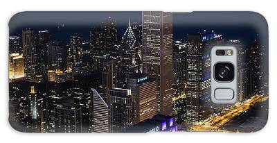 Downtown Chicago Galaxy Case