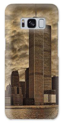 Downtown Manhattan Circa Nineteen Seventy Nine  Galaxy Case