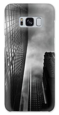 Galaxy Case featuring the photograph Downtown Toronto Fogfest No 4 by Brian Carson