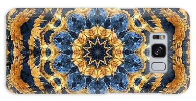 Dripping Gold Kaleidoscope Galaxy Case