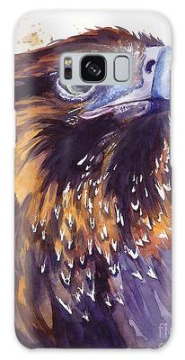 Pigeon Paintings Galaxy Cases