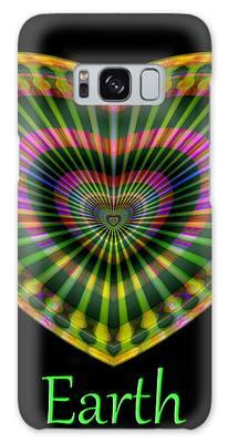 Earth Galaxy Case by Visual Artist Frank Bonilla