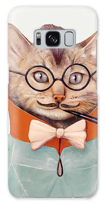 Cool Art Cats Galaxy Cases