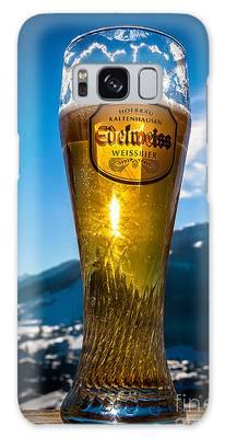 Edelweiss Beer In Kirchberg Austria Galaxy Case