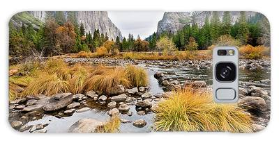 El Capitan And The Merced River In The Fall Galaxy Case