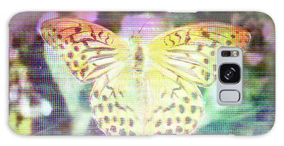 Galaxy Case featuring the digital art Electronic Wildlife  by Bee-Bee Deigner