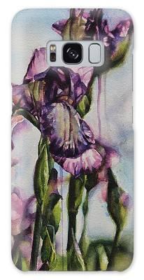 Enchanted Iris Garden Galaxy Case