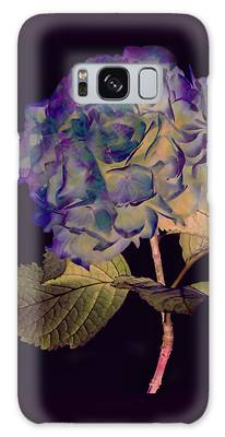 Galaxy Case featuring the mixed media Fairy Hydrangea by Susan Maxwell Schmidt