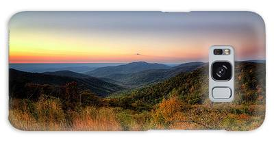 Galaxy Case featuring the photograph Fall Sunrise by Ryan Wyckoff