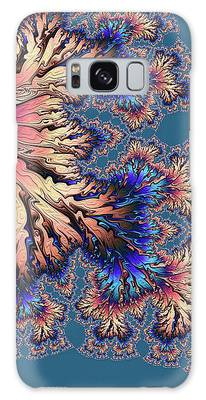 Galaxy Case featuring the digital art Fantasia by Susan Maxwell Schmidt
