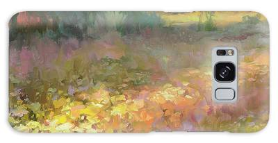 Country Living Paintings Galaxy Cases