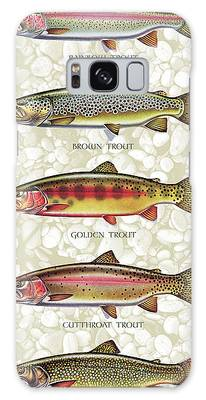 Trout Galaxy Cases