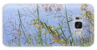 Floral Pond  Galaxy Case