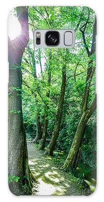 Galaxy Case featuring the photograph Forest Path by Bee-Bee Deigner