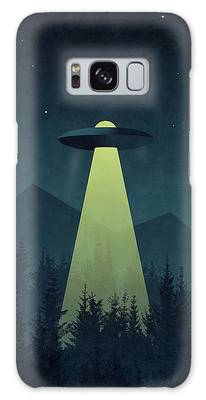 Ufo Digital Art Galaxy Cases